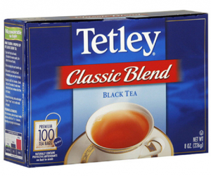 Printable Coupon – SAVE $1 on Tetley Tea