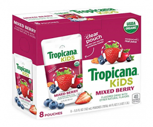 Tropicanna Kids Organic Juice Pouches – 32ct