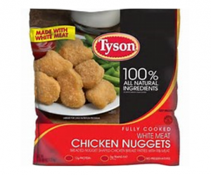 Printable Coupon – SAVE $1.50 on Tyson Chicken Nuggets