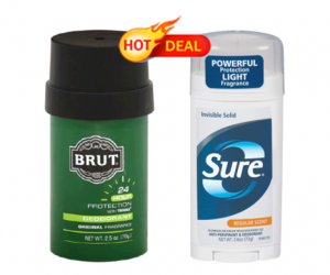 CVS Deal Alert on Sure or Brut Deodorant