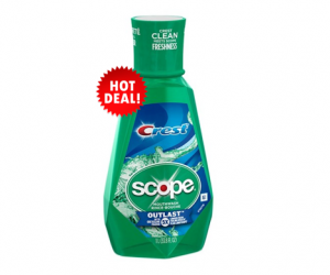 1 CVS Deal - Crest Scope Mouthwash