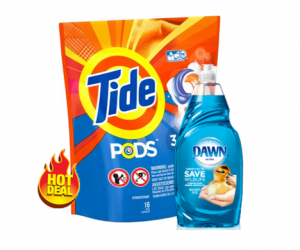 CVS Deal – Tide Pods & Dawn Dish Soap