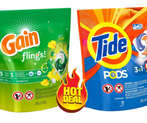 CVS Deal Alert on Tide Pods & Gain Flings