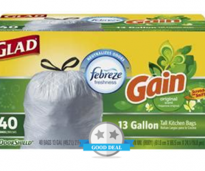 Publix Deal – Glad OdorShield Trash Bags