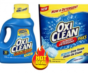 1 Publix Deal - OxiClean Liquid & Pacs