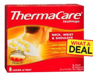 1 Publix Deal - Thermacare Heat Wraps