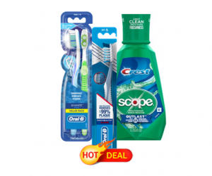 Target Deal – Crest & Oral-B Products