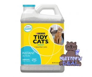 Target Deal Alert on Tidy Cats Cat Litter