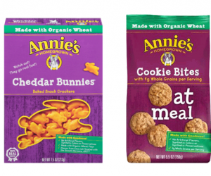 Printable Coupon – SAVE $0.50 on Annie's Cookies or Crackers