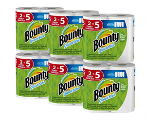 Bounty Family Sized Rolls ALA $0.65 per Regular Roll