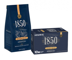 Printable Coupon – SAVE $1.50 on 1850 Coffee Bag or K-Cups
