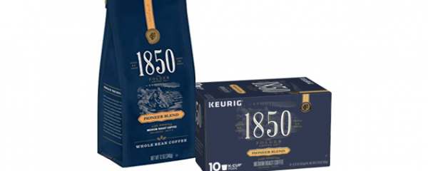 Folgers 1850 Coffee Bag & K-Cups new