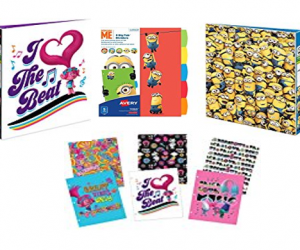 Minions & Trolls Back to School Supplies