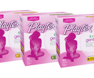 Printable Coupon – SAVE $1 on Playtex Simply Gentle Tampons