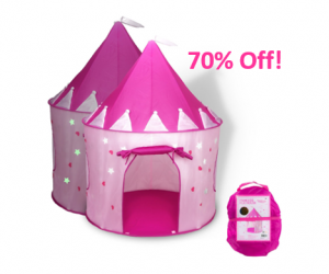 Princess Castle Play Tent – Save 70%!