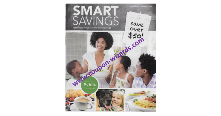 Publix Coupon Booklet Smart Savings 8-4-18