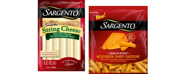Sargento Snack Bites & String Cheese new