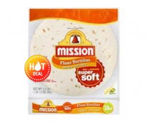 1 Publix Deal - Mission Flour Tortillas