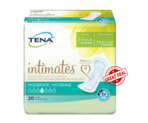 Walmart Deal on Tena Intimates Pads