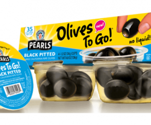 Printable Coupon – SAVE $1 on Pearls Olives to Go