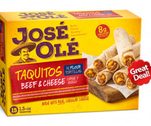 Target Deal Alert on Jose Ole Taquitos