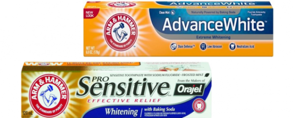 Arm & Hammer Toothpaste new