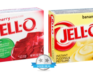 1 Publix Deal - Jell-O Gelatin & Pudding