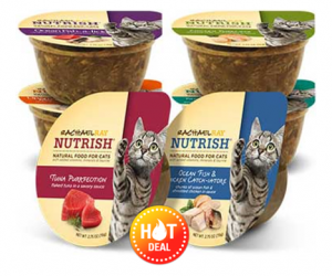 1 Publix Deal - Rachael Ray Nutrish Wet Cat Food Cups