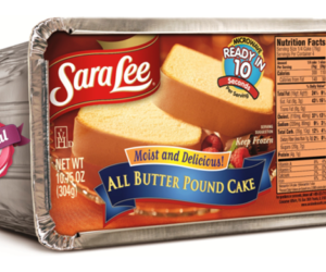 1 Publix Deal - Sara Lee Pound Cake
