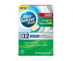 Printable Coupon – SAVE $4 on Alka-Seltzer Cough & Mucus