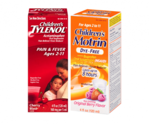 Printable Coupon – SAVE $2 on Children's Tylenol or Motrin