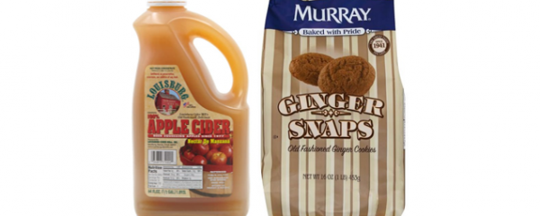 Murray Ginger Snaps & Apple Cider new
