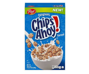 Printable Coupon – SAVE $0.50 on Post Chips Ahoy Cereal!