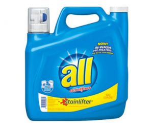 Printable Coupon – SAVE $3 on all Detergent, 184.5oz