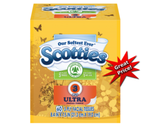 1 Publix Deal - Scotties Facial Tissues