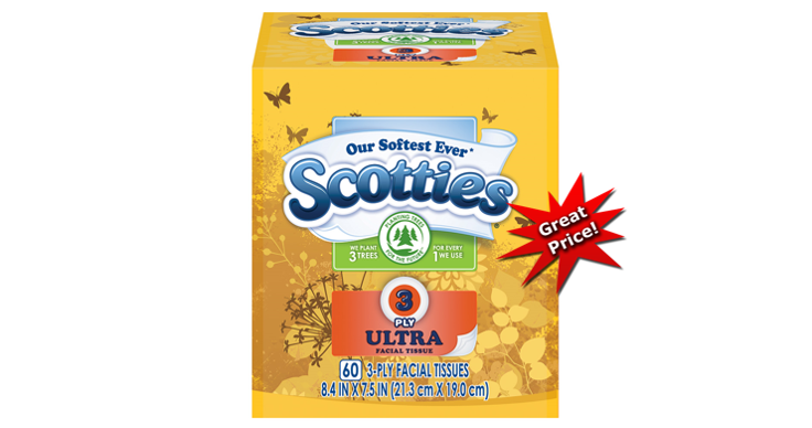 image regarding Scotties Tissues Printable Coupon called Publix Package Inform upon Scotties Facial Tissues - TheCouponWizards