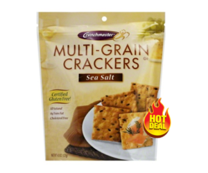 1 Target Deal - Crunchmaster Crackers