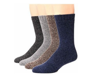 13Deals - 3 Pair Lamb's Wool Heated Socks