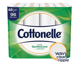 Cottonelle Ultra GentleCare 48 Dbl Rolls
