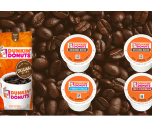 Free Sample - Dunkin Donuts Coffee