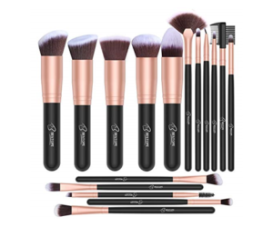 Makeup Brush Set BESTOPE 16pc