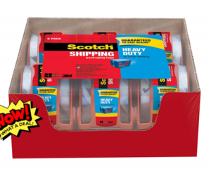 Scotch Heavy Duty Packaging Tape