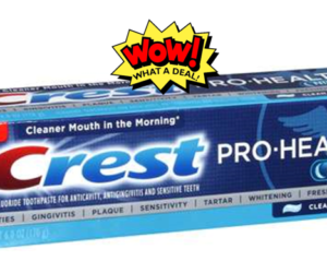 1 CVS Deal - Crest ProHealth Toothpaste