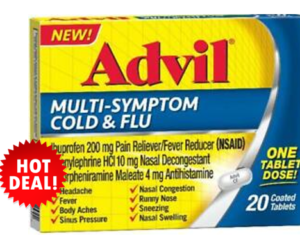 1 Publix Deal - Advil MultiSymptom Cold & Flu