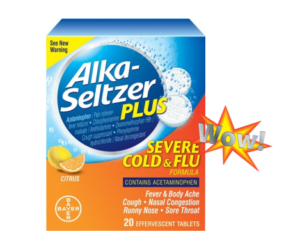 1 Publix Deal - Alka-Seltzer Plus Cold & Flu