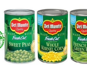 1 Publix Deal - Del Monte Canned Veggies
