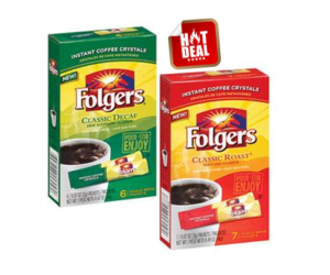 1 Publix Deal - Folgers Single Serve Packets
