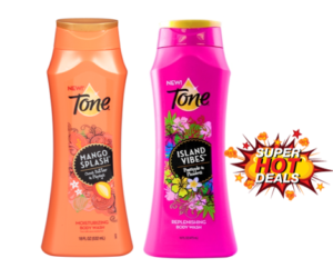 1 Publix Deal - Tone Mango & Island Vibes Body Washes