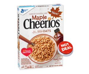 1 Target Deal - Maple Cheerios Cereal