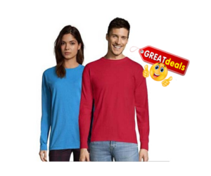 13Deals - Hanes Long Sleeved Tees
